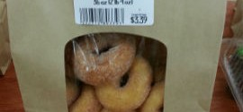 Mini Donuts!  Our Newest Item